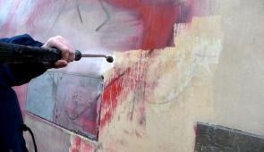 Čištění graffiti a ochrana